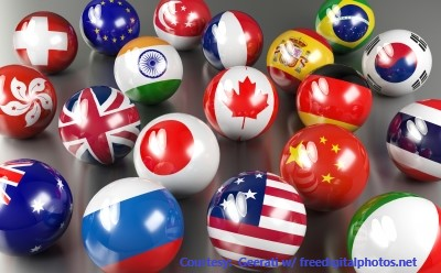 flag marbles
